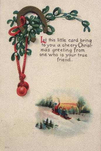 stamps and cards on christmas on the net santaland com